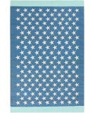 RugStudio presents Surya Picnic Pic-4010 Blue Woven Area Rug
