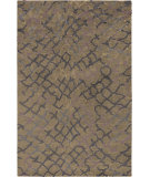RugStudio presents Surya Platinum PLAT-9020 Olive Gray Hand-Knotted, Good Quality Area Rug