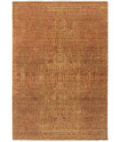 RugStudio presents Surya Palace PLC-1002 Red / Neutral Hand-Knotted, Good Quality Area Rug