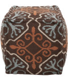 RugStudio presents Surya Poufs Pouf-18 Coffee Bean