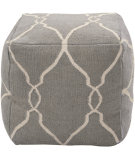 RugStudio presents Surya Poufs Pouf-24 Elephant Gray