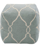 RugStudio presents Surya Poufs Pouf-25 Slate Blue