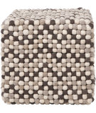 RugStudio presents Surya Poufs Pouf-30 Brown