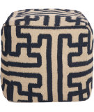 RugStudio presents Surya Poufs Pouf-49 Mossy Gold