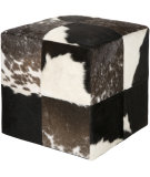 RugStudio presents Surya Poufs Pouf-56 Brindle