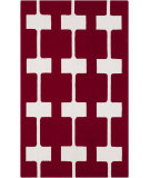 RugStudio presents Surya Printemps PRN-1003 Maroon Hand-Hooked Area Rug