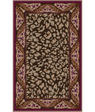 RugStudio presents Surya Paris PRS-2012 Neutral / Violet (purple) Hand-Tufted, Good Quality Area Rug