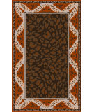 RugStudio presents Surya Paris PRS-2013 Neutral / Orange Hand-Tufted, Good Quality Area Rug