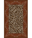 RugStudio presents Surya Paris PRS-2015 Neutral / Red Hand-Tufted, Good Quality Area Rug