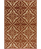 RugStudio presents Surya Portera Prt-1056 Rust Machine Woven, Good Quality Area Rug
