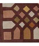 RugStudio presents Surya Peerpressure Psr-7015 Burgundy Hand-Tufted, Good Quality Area Rug