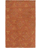 RugStudio presents Surya Perspective Psv-44 Rust Hand-Tufted, Good Quality Area Rug