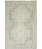 RugStudio presents Surya Pazar Pzr-6003 Sea Foam Hand-Knotted, Good Quality Area Rug
