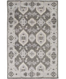 RugStudio presents Surya Pazar Pzr-6006 Charcoal Hand-Knotted, Good Quality Area Rug