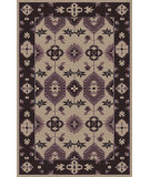 RugStudio presents Surya Pazar Pzr-6009 Eggplant Hand-Knotted, Good Quality Area Rug