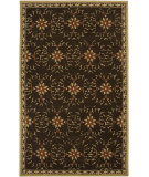 RugStudio presents Surya Rain RAI-1058 Dark Chocolate Hand-Hooked Area Rug