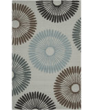 RugStudio presents Surya Rain RAI-1085 Silvered Gray Hand-Hooked Area Rug