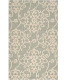 RugStudio presents Surya Rain RAI-1103 Malachite Green Hand-Hooked Area Rug