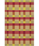 RugStudio presents Surya Rain Rai-1124 Pale Gold Hand-Hooked Area Rug