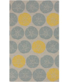 RugStudio presents Surya Rain RAI-1129 Foggy Blue Hand-Hooked Area Rug