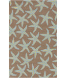 RugStudio presents Surya Rain RAI-1134 Driftwood Brown Hand-Hooked Area Rug