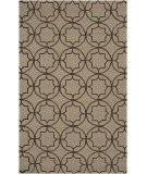 RugStudio presents Surya Rain RAI-1144 Neutral / Green Hand-Hooked Area Rug