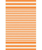 RugStudio presents Surya Rain RAI-1153 Neutral / Orange Hand-Hooked Area Rug