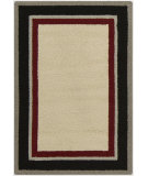 RugStudio presents Surya Rain RAI-1164 Neutral / Green / Red Hand-Hooked Area Rug