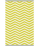 RugStudio presents Surya Rain RAI-1176 Neutral / Green Hand-Hooked Area Rug