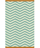 RugStudio presents Surya Rain RAI-1177 Neutral / Green Hand-Hooked Area Rug