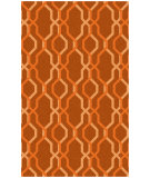 RugStudio presents Surya Rain RAI-1184 Neutral / Orange Hand-Hooked Area Rug