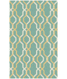 RugStudio presents Surya Rain RAI-1185 Neutral / Green Hand-Hooked Area Rug