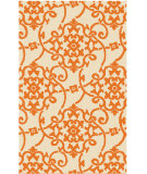 RugStudio presents Surya Rain RAI-1195 Green / Orange Area Rug