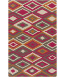 RugStudio presents Surya Rain Rai-1207 Hot Pink Hand-Hooked Area Rug
