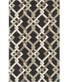 RugStudio presents Surya Rain Rai-1214 Black Hand-Hooked Area Rug