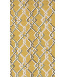 RugStudio presents Surya Rain Rai-1215 Gold Hand-Hooked Area Rug
