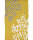 RugStudio presents Surya Rain Rai-1217 Gold Hand-Hooked Area Rug