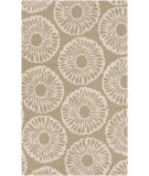 RugStudio presents Surya Rain Rai-1229 Light Gray Hand-Hooked Area Rug