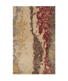 RugStudio presents Surya Rant Rant-8710 Parchment Hand-Tufted, Good Quality Area Rug
