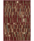 RugStudio presents Surya Riley RLY-5003 Maroon Machine Woven, Better Quality Area Rug