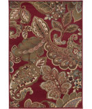 RugStudio presents Surya Riley RLY-5020 Maroon Machine Woven, Better Quality Area Rug