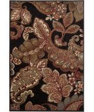 RugStudio presents Surya Riley RLY-5021 Jet Black Machine Woven, Better Quality Area Rug