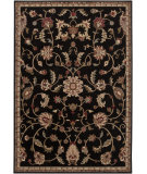 RugStudio presents Rugstudio Sample Sale 65719R Jet Black Machine Woven, Better Quality Area Rug