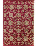 RugStudio presents Surya Riley RLY-5028 Maroon Machine Woven, Better Quality Area Rug