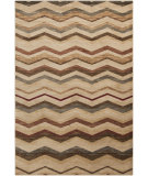 RugStudio presents Surya Riley RLY-5034 Neutral / Green / Violet (purple) Area Rug