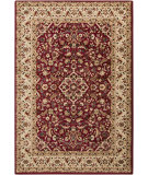 RugStudio presents Surya Riley RLY-5039 Burgundy Machine Woven, Better Quality Area Rug