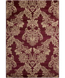 RugStudio presents Surya Riley RLY-5042 Burgundy Machine Woven, Better Quality Area Rug