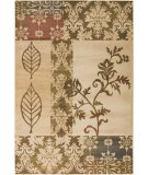 RugStudio presents Surya Riley RLY-5047 Neutral / Green / Violet (purple) Machine Woven, Better Quality Area Rug
