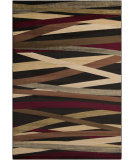 RugStudio presents Surya Riley RLY-5057 Neutral / Red Machine Woven, Better Quality Area Rug