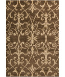 RugStudio presents Surya Riley RLY-5060 Neutral / Green Machine Woven, Better Quality Area Rug